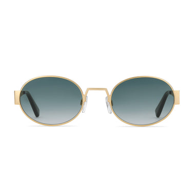 Party Favor Edition - Emerald Green Matte Gold + Emerald Green Lens Non-Polarized