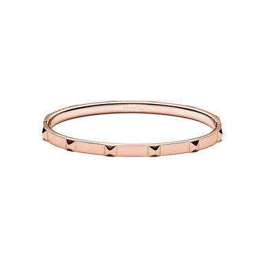 Stud Bangle Thin Rose Gold