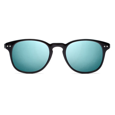 Hyde Mirror Black + Blue Lens Polarized