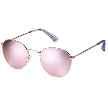 Icon Mirror Rose Gold + Pink Lens Non-Polarized