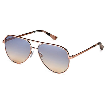 Maverick Rose Gold + Blue Lens Non-Polarized