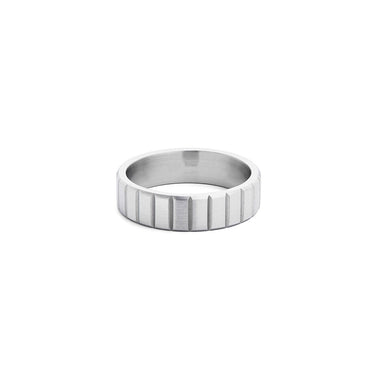 Groove Ring Silver
