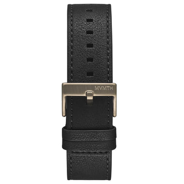 Minimal Sport - 22mm Black Leather
