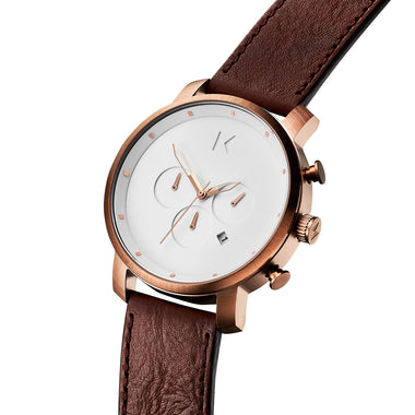 Chrono Rose Gold Chestnut