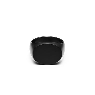 Signet Ring Black