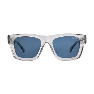 Trap Crystal Grey + Blue Lens Non-Polarized