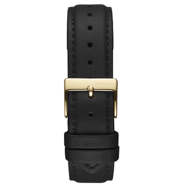 Duet - 20mm Black Leather