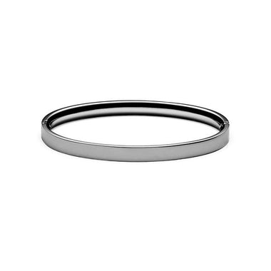 Ellipse Bangle Gunmetal