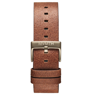 Field - 22mm Rugged Tan Leather