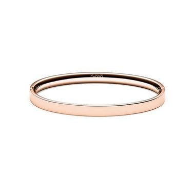 Ellipse Bangle Rose Gold